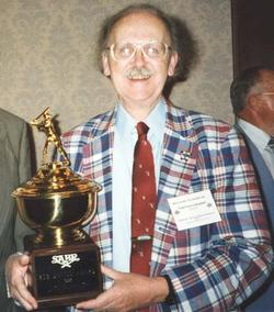 Fred With The 2003 Bob Davids Award